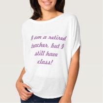 Retired Teacher T (women's) T-Shirt