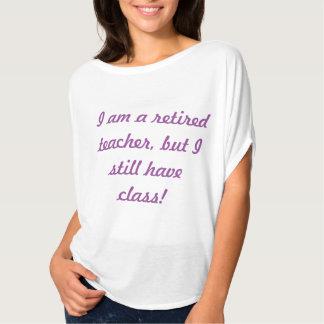 Retired Teacher T (women's) Tees