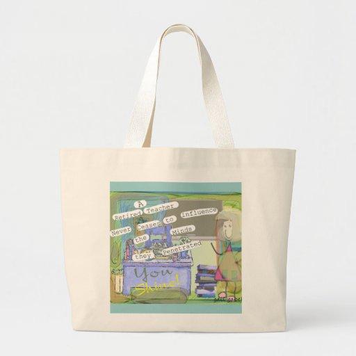 Retired Teacher Tote Bag Artist Created