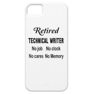 Retired Technical writer No job No clock No cares iPhone SE/5/5s Case
