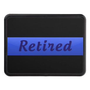 Retired - Thin Blue Line Hitch Cover