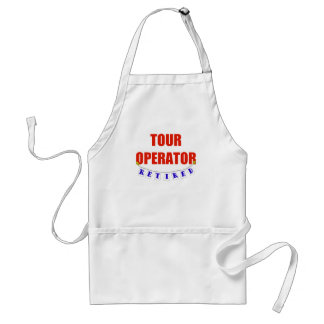 Retired Tour Operator Adult Apron