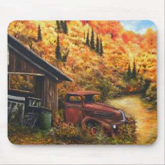 Retired Truck Mouse Pad