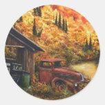 Retired Truck Sticker