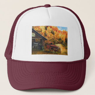Retired Truck Trucker Hat