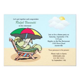 Retired Turtle Invitation