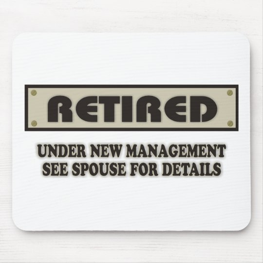 RETIRED. Under New Management Mouse Pad