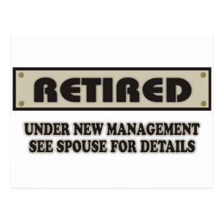 RETIRED. Under New Management Post Cards