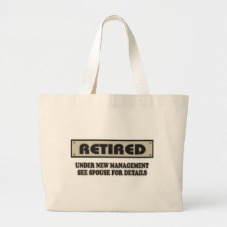 RETIRED. Under New Management. See Spouse Large Tote Bag