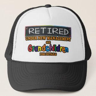 Retired Under New Management Trucker Hat
