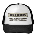 RETIRED. Under New Management Trucker Hat