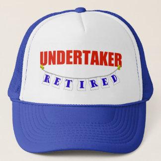 Retired Undertaker Trucker Hat