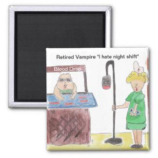 Retired Vampire 2 Inch Square Magnet