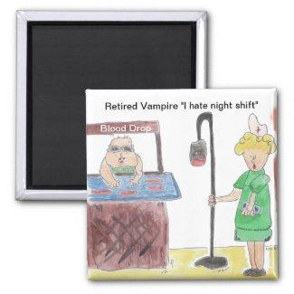 Retired Vampire Magnet