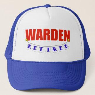 Retired Warden Trucker Hat