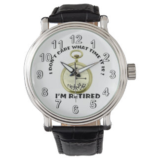 Retired watch