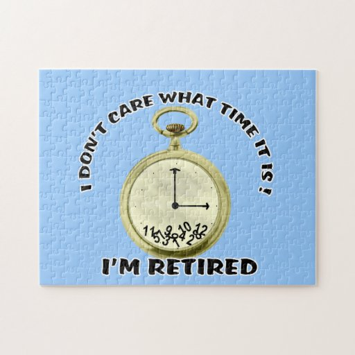 Retired watch 10x14 PUZZLE