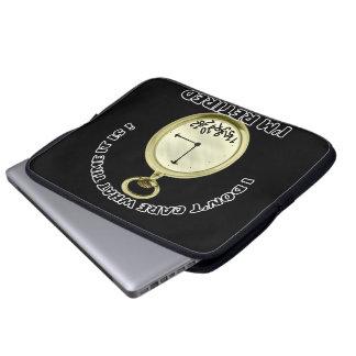 "Retired watch  15"" laptop bag laptop computer sleeve"