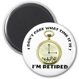 Retired watch 2 inch round magnet