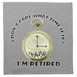 Retired watch American MoJo Napkin