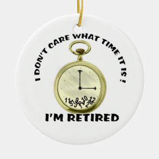 Retired watch ceramic ornament