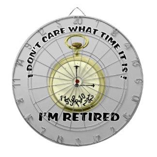 Retired watch Dartboard