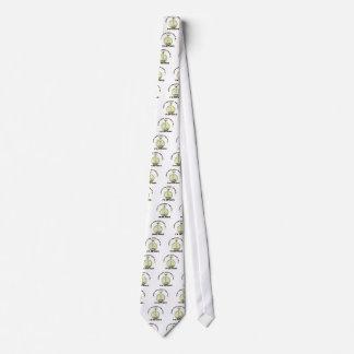 Retired watch neck tie