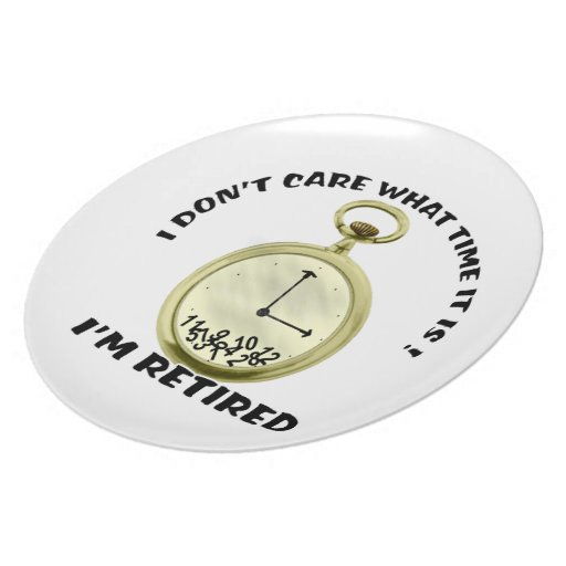Retired watch plate
