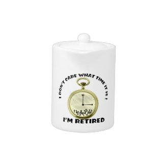 Retired watch Teapot (2) sizes