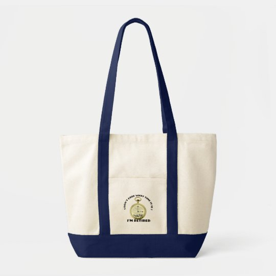 Retired watch tote bag