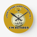 Retired watch Wall Clock