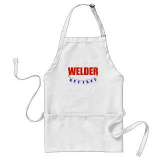 Retired Welder Adult Apron