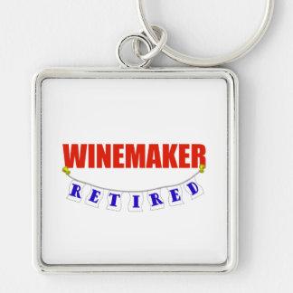 Retired Winemaker Keychain