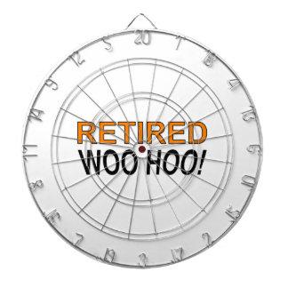 Retired Woo Hoo Dartboard