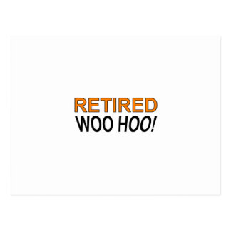 Retired Woo Hoo Postcard