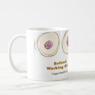 Retired Working Girl Mug
