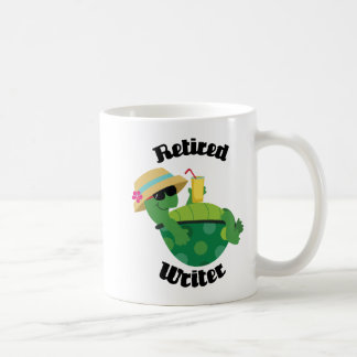 Retired Writer (Turtle) Coffee Mug