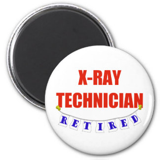 Retired X-Ray Technician Magnet