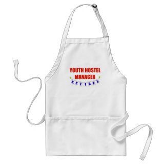 Retired Youth Hostel Mgr Adult Apron