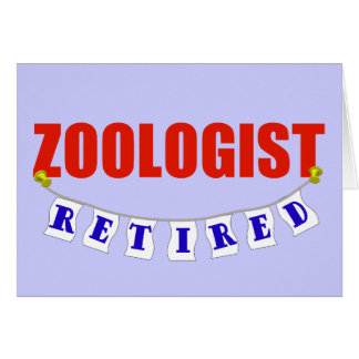 Retired Zoologist Card