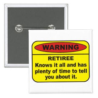 Retiree Button