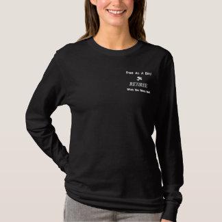 Retiree Freedom Embroidered Shirt