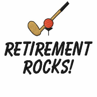 Retiree Golf Embroidered Shirt