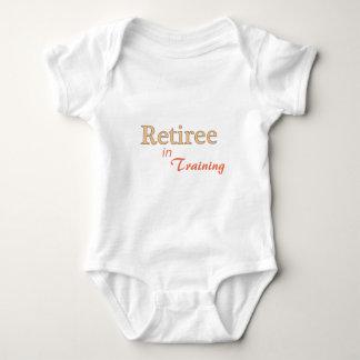 Retiree in Training Baby Bodysuit