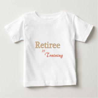 Retiree in Training Baby T-Shirt