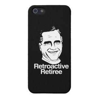 RETIREE png RETROACTIVO iPhone 5 Cárcasas