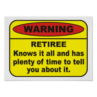 Retiree Print