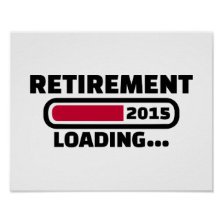 Retirement 2015 poster