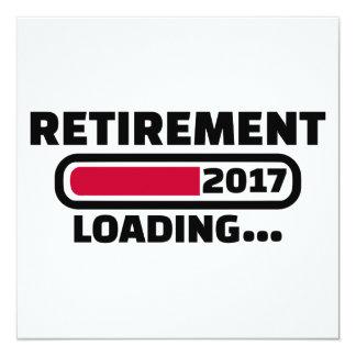 Retirement 2017 card