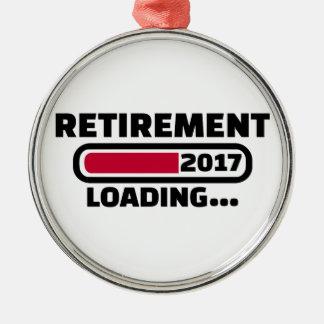 Retirement 2017 metal ornament